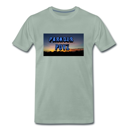 Parkour POVZ merchandise - Men's Premium T-Shirt