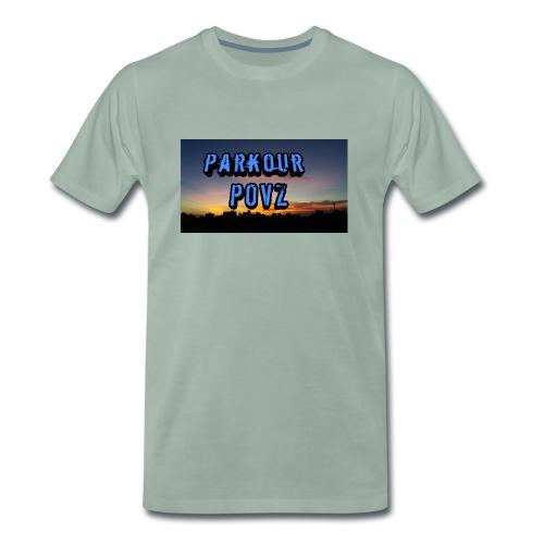 Parkour POVZ merchandise - Men's Premium T-Shirt