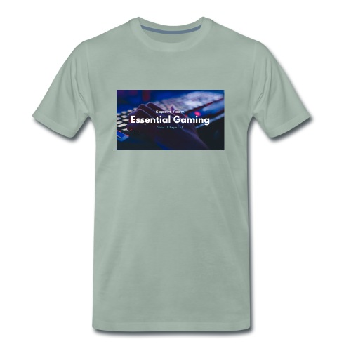 Essential Gaming - Premium T-skjorte for menn