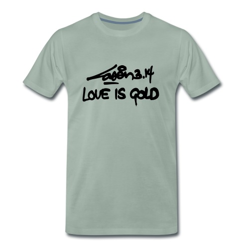 loveisgold kids shirt - Men's Premium T-Shirt