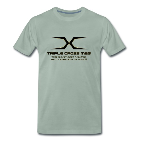 TRIPLE CROSS MEG - Men's Premium T-Shirt