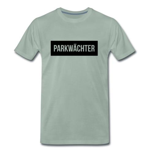 Parkwächter Balkentext - Männer Premium T-Shirt