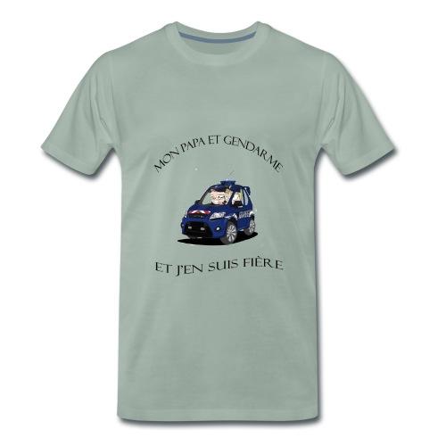 mon papa gendarme - T-shirt Premium Homme
