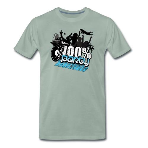 100nyaloggan - Premium-T-shirt herr