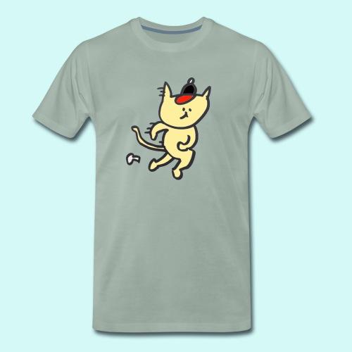 Cat's cap! - Men's Premium T-Shirt