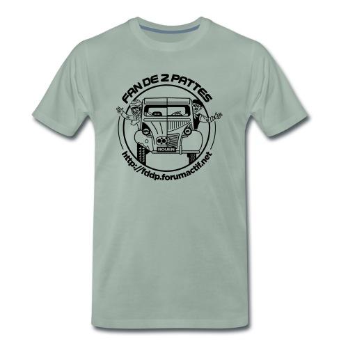 logonoiretblanc - T-shirt Premium Homme