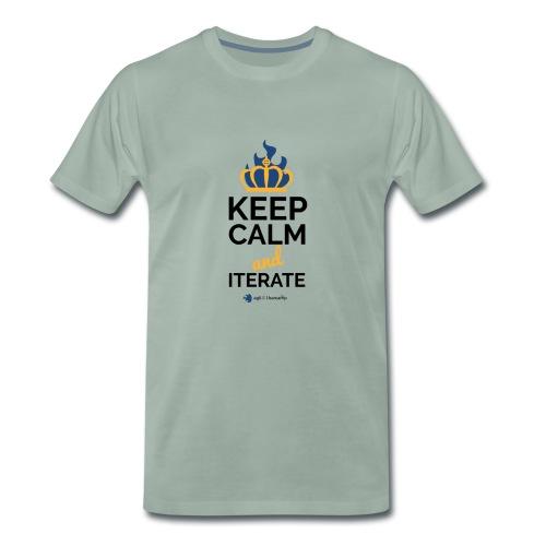 agiLE Leipzig | keep calm & iterate - Männer Premium T-Shirt