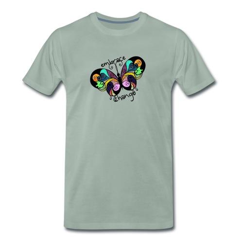 Embrace Change Butterfly - Men's Premium T-Shirt