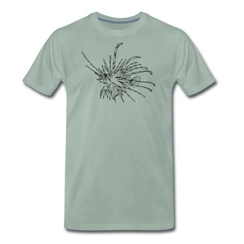Tribal Tattoo Tauchen Taucher Lionfish Dive - Männer Premium T-Shirt