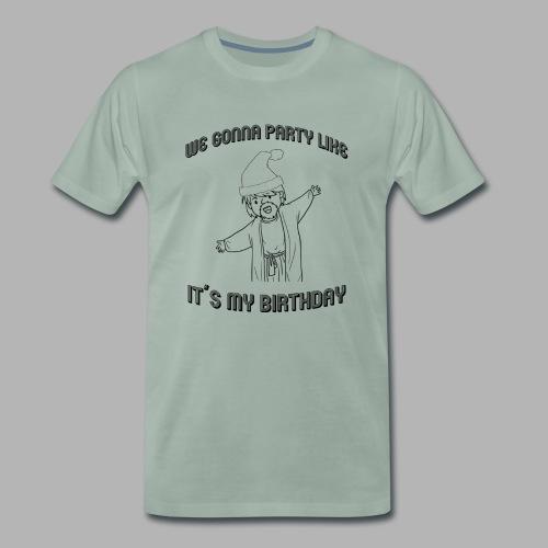 We gonna party like it´s JESUS BIRTHDAY - Männer Premium T-Shirt