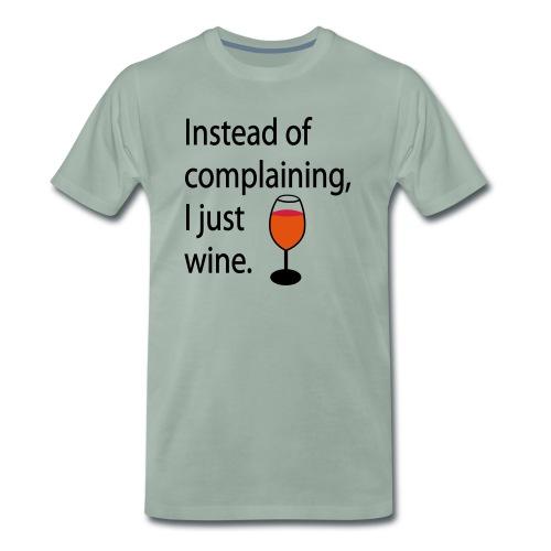 Weinglas - Wine Glass | Food & Drinking - Men's Premium T-Shirt