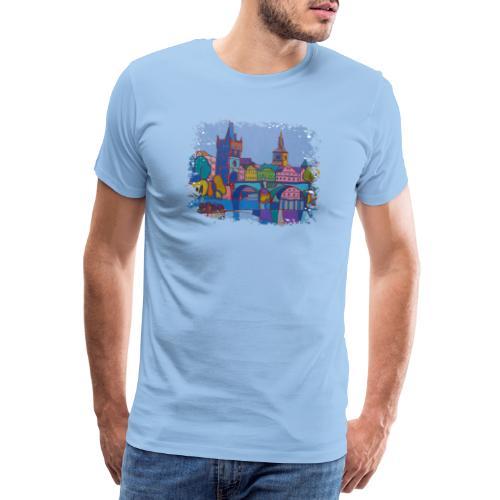 Prag - Männer Premium T-Shirt