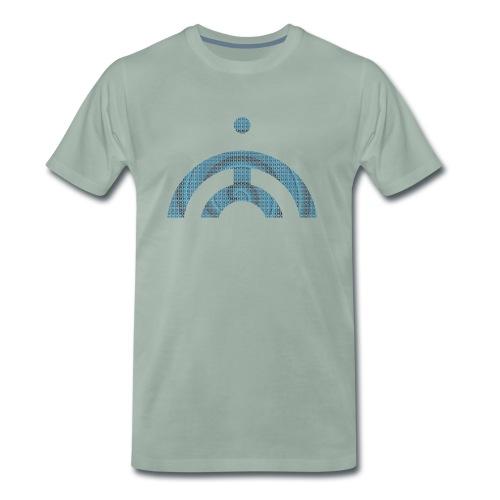 JB MONK BLUE - Men's Premium T-Shirt
