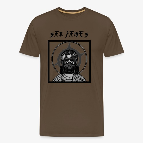 San James Logo+Txt no font - T-shirt Premium Homme