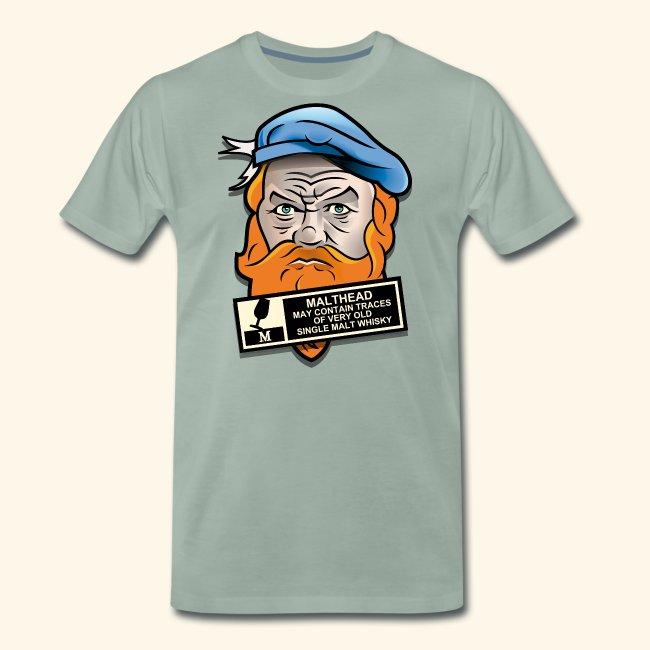 Whisky T Shirt Malthead Warning