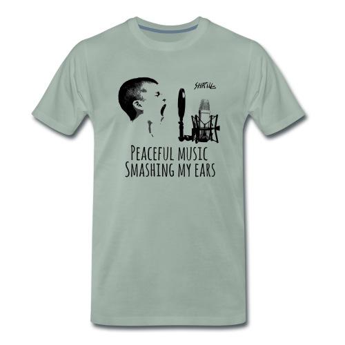 Shrill Peaceful Music Tshirt - T-shirt Premium Homme