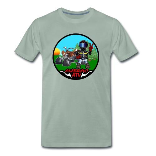 Logo aubrac atv 2 - T-shirt Premium Homme