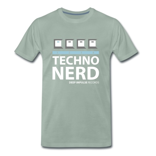 Techno Nerd - Men's Premium T-Shirt