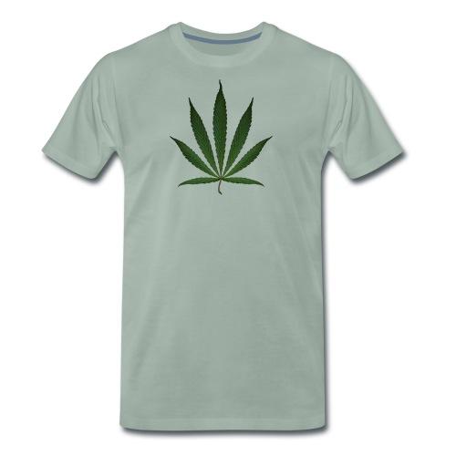 HEMP LEAF 1 - Männer Premium T-Shirt