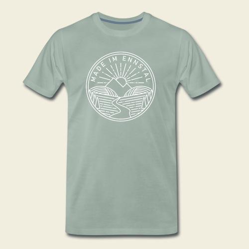 Made im Ennstal, weiß - Männer Premium T-Shirt