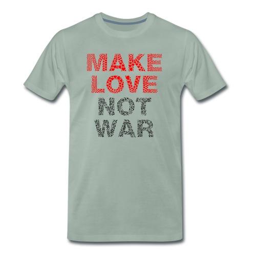 Liebe-Krieg - Männer Premium T-Shirt