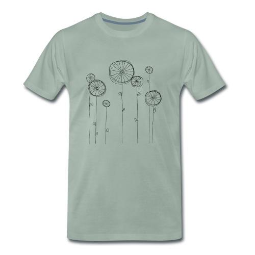 Radblumen - Männer Premium T-Shirt