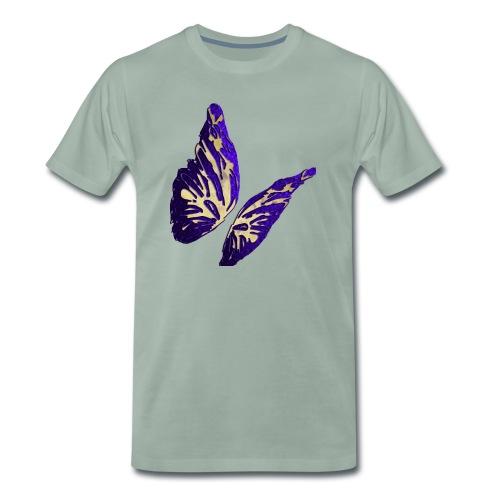 Golden Butterfly 2 - incantevole farfalla colorata - Maglietta Premium da uomo