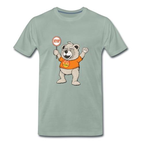 FUPO der Bär. Druckfarbe bunt - Männer Premium T-Shirt