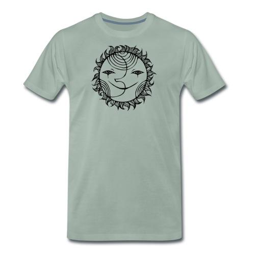 SunMoonRising - Men's Premium T-Shirt