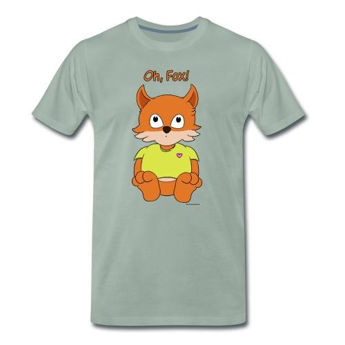 Oh, Fox! Cute women's T-shirt - Men's Premium T-Shirt