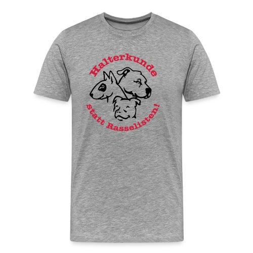 508 Halterkunde statt Rasselisten - Männer Premium T-Shirt