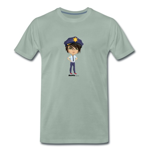 Momio police - Miesten premium t-paita