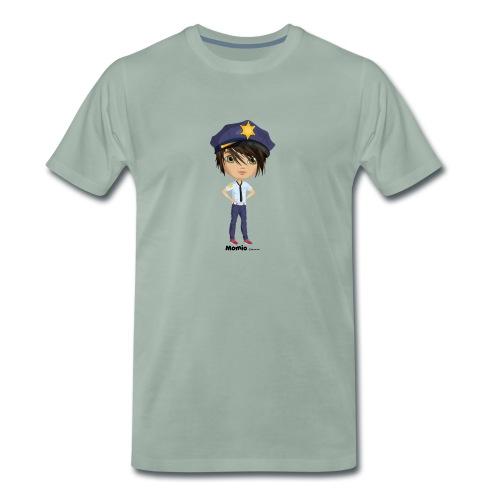 Momio police - Premium T-skjorte for menn