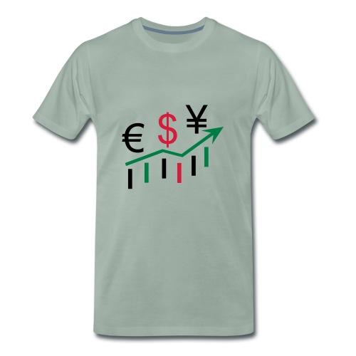 forex dollar euro - Männer Premium T-Shirt