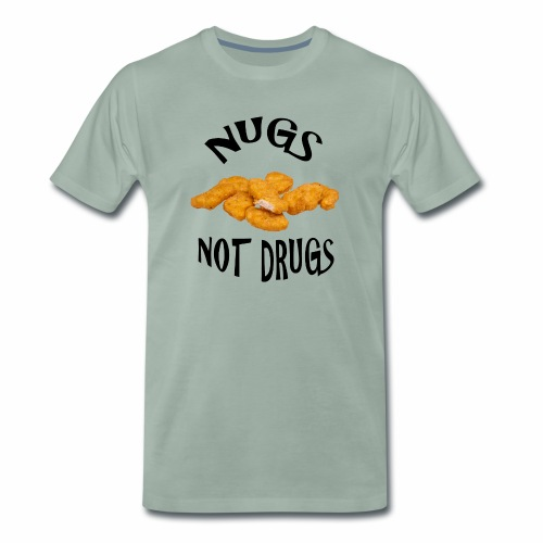 nugsnotdrugs vector - Men's Premium T-Shirt