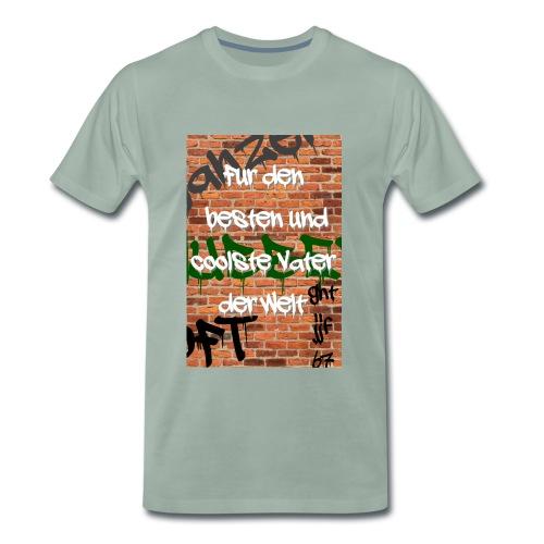 Vatertag für den besten Vater Graffity - Männer Premium T-Shirt