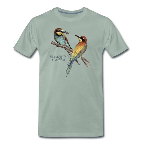 Bee-eater Birdingplaces - Men's Premium T-Shirt