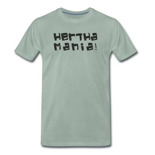 Herthamania! Hoodie (weiß) - Männer Premium T-Shirt