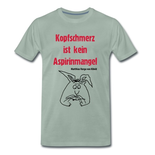 Aspirin - Männer Premium T-Shirt