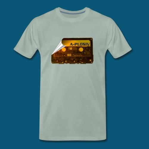 SUNSET MUSIC png - Männer Premium T-Shirt