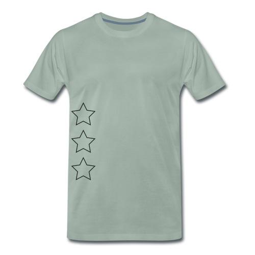 sterne unter dem arm - Männer Premium T-Shirt