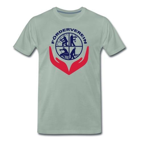 Symbol_FVFFG_3Color_NEU - Männer Premium T-Shirt