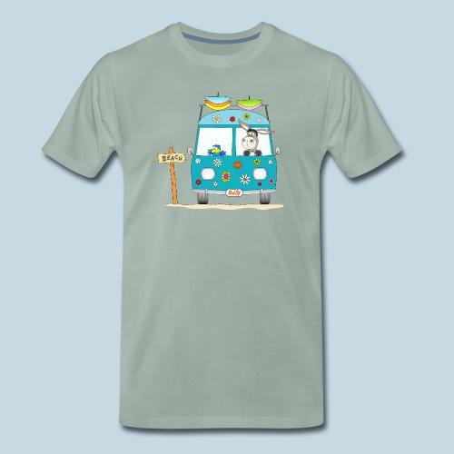 Wellenreiter Surfbus - Männer Premium T-Shirt