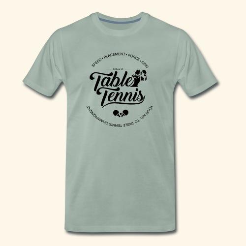 Key to Table tennis championship - Männer Premium T-Shirt