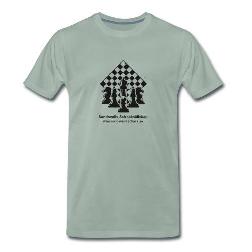 Sundsvalls Schacksällskap - Premium-T-shirt herr