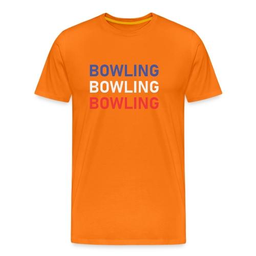 Bowling Bleu Blanc Rouge - T-shirt Premium Homme
