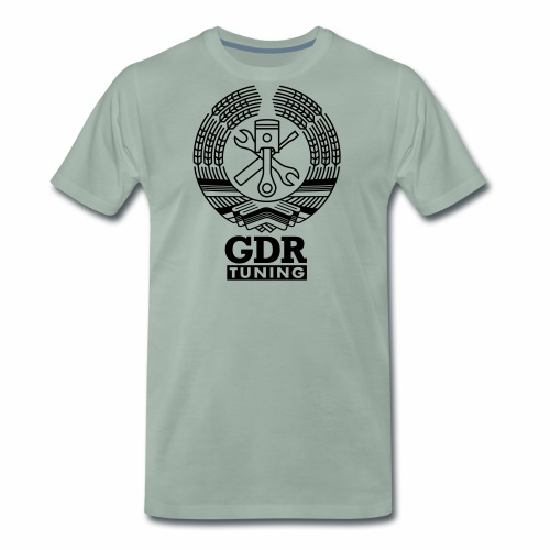 GDR Tuning Coat of Arms 1c - Men's Premium T-Shirt