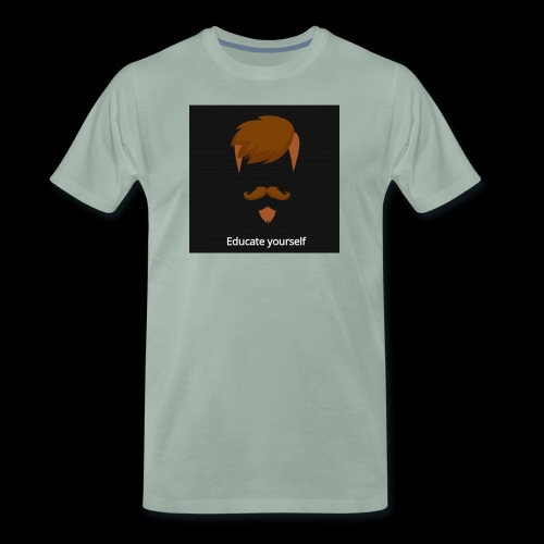 educate yourself - Men's Premium T-Shirt