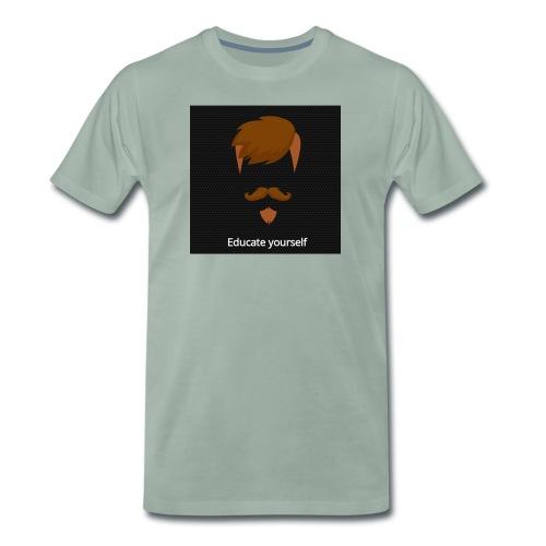 educate yourself - Men's Premium T-Shirt