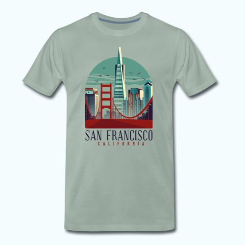 San Francisco USA - Men's Premium T-Shirt